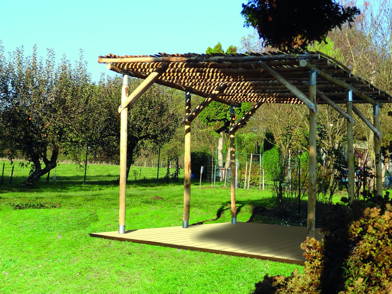 Fußbodenbelag Gartenlaube ~ Gartenlaube julie aus kastanienholz naturwaren online kaufen